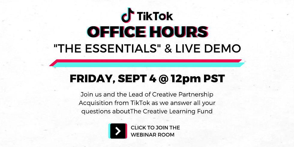 TikTok Office Hours