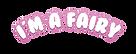 i'm amazing party logo - fairy- print.pn