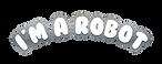 i'm amazing party logo - robot- print.pn