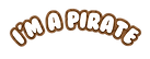 i'm amazing party logo - pirate- print.p