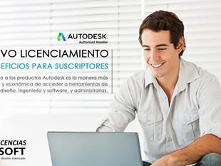 Licencias por Suscripción en Autodesk