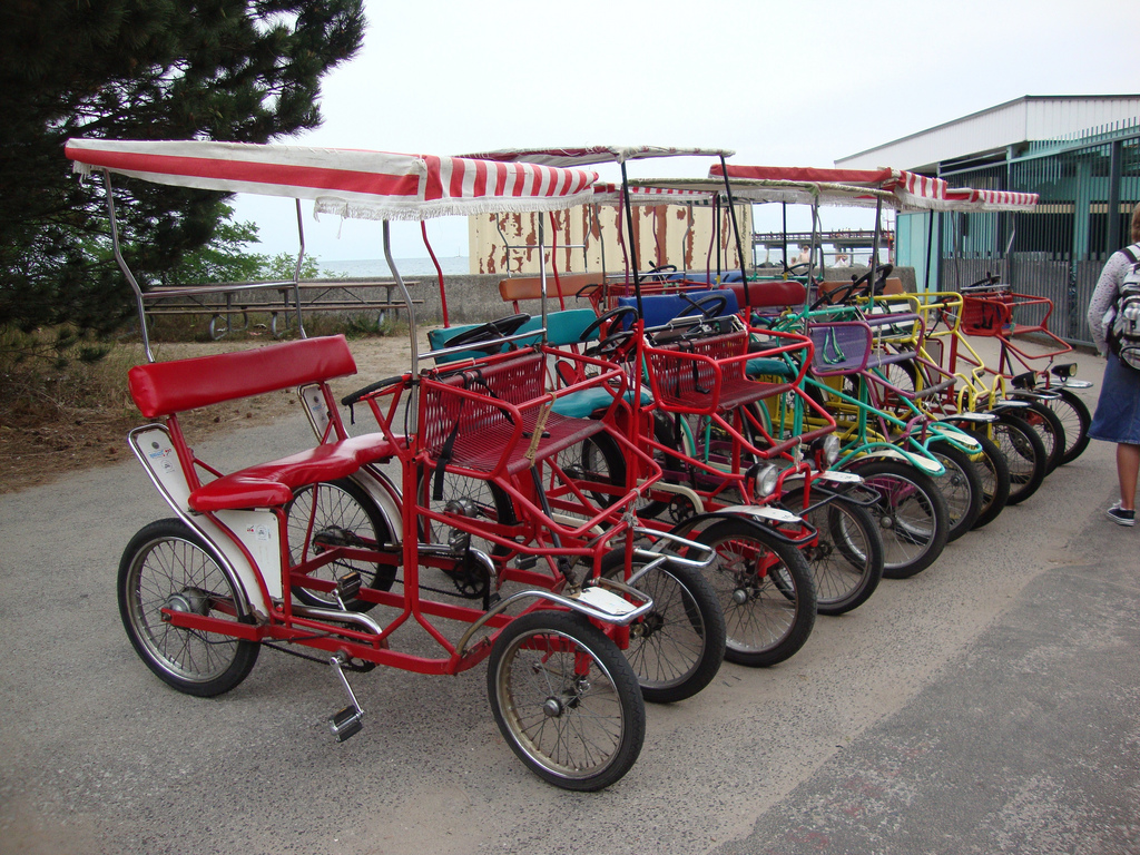 Toronto Center Island Bike Rental