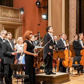 """DE1 """"With Music into a Dream"""". Prague Philharmonia (PKF). Rudolfinum (Prague), 2019. Photo: Milan Mošna (1)"""