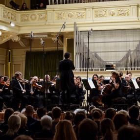 Moravian Philharmonic Orchestra of Olomouc. Besední dům (Brno), 2019. Photo: Lenka Brothánková (1)