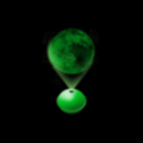 Planet Projector Green