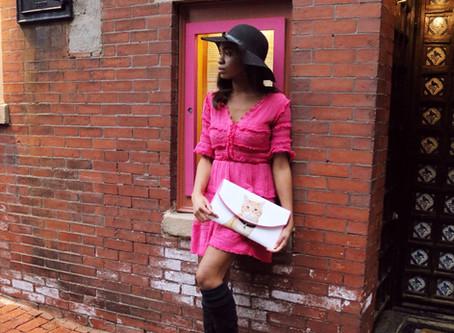 Slow Fashion: One Dress Worn Two Ways.