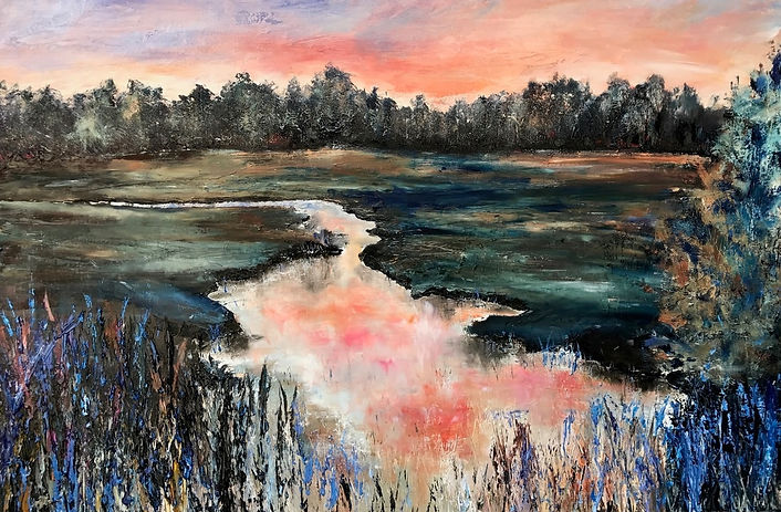 Julia S. Powell - oil on canvas 2017