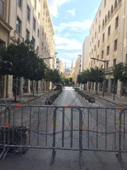 Las calles de El Líbano