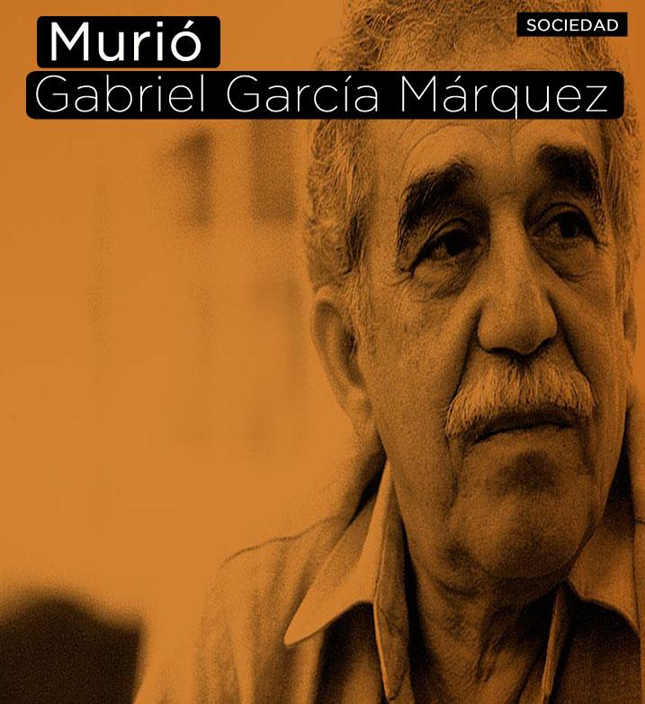 Murió Gabriel García Márquez