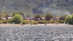 La Alameda desde el lago