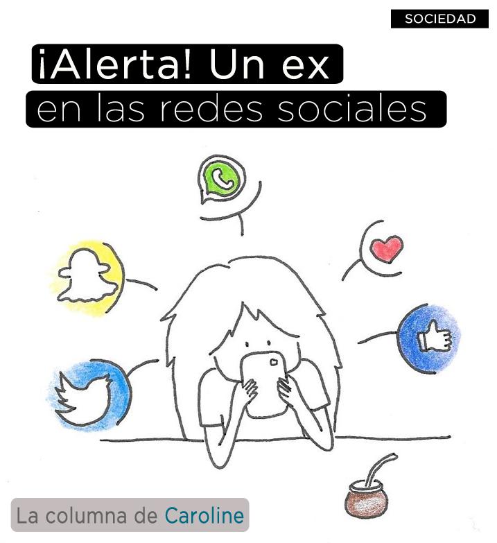 ¡Alerta! Un ex en las redes sociale