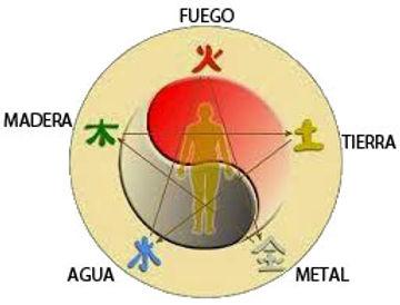 Madera, fuego, tierra, agua y metal, Medicina Tradicional China