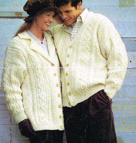 5360J Ladies vintage knitting pattern PDF