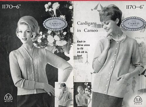 1170P ladies cardigan PDF