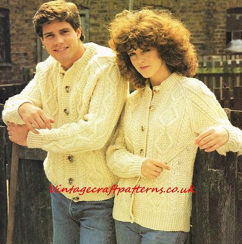 3115PG ladies vintage knitting pattern PDF
