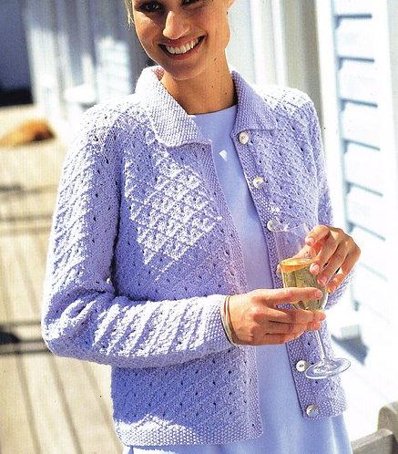 5825S Ladies vintage knitting pattern PDF