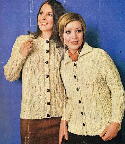 1825R ladies vintage knitting pattern PDF