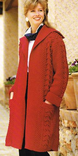4001P ladies vintage knitting pattern PDF
