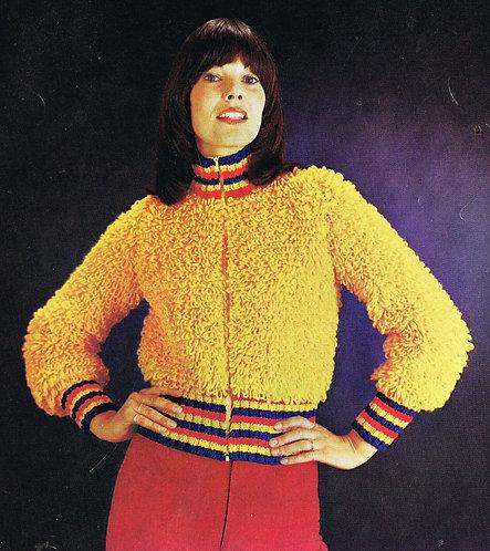 2268R ladies vintage knitting pattern PDF