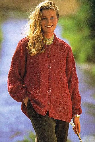 4527H Ladies vintage knitting pattern PDF