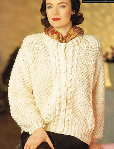 1774Su ladies vintage knitting pattern PDF
