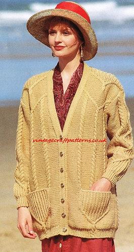 5080J ladies vintage knitting pattern PDF