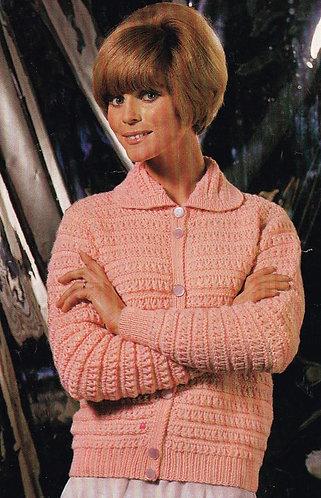 2448S ladies vintage knitting pattern PDF