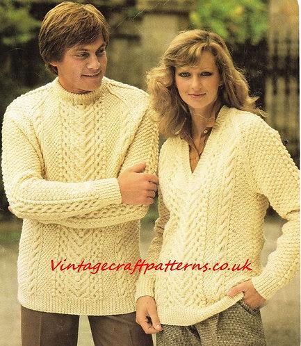 1509H ladies vintage knitting pattern PDF