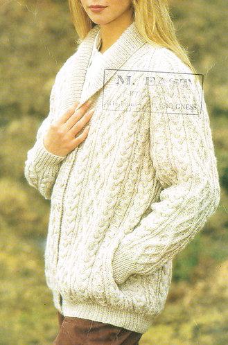 3911P ladies vintage knitting pattern PDF
