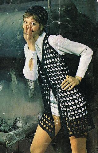 2104R Ladies vintage crochet pattern PDF
