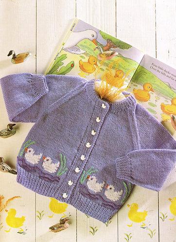 4868P baby vintage knitting pattern PDF