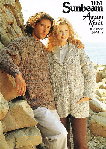 1851sun ladies vintage knitting pattern PDF