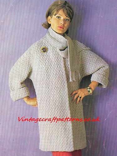 2086S Ladies vintage knitting pattern PDF