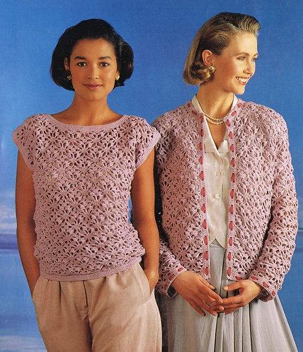 3600W ladies vintage crochet pattern PDF