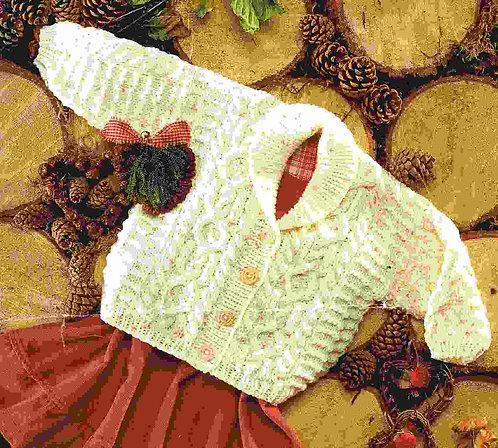 3865S baby vintage knitting pattern