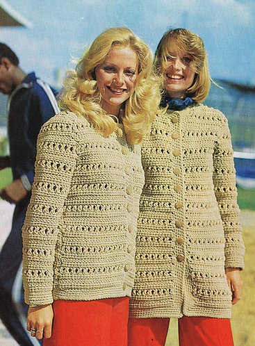 2990E ladies vintage knitting pattern PDF
