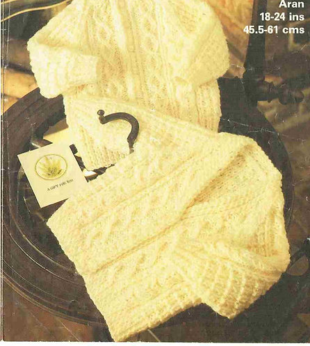 1971M baby cardigans vintage knitting pattern  PDF Download