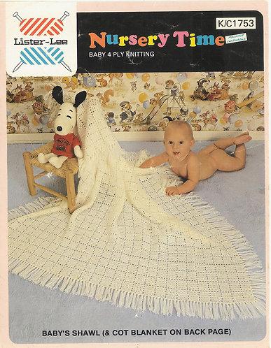 1753li baby crochet vintage pattern PDF