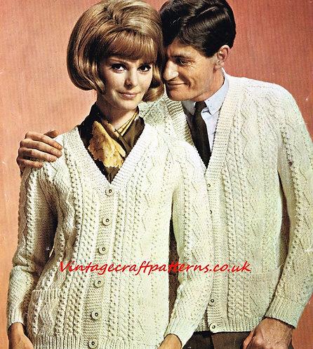 9963P Ladies vintage knitting pattern PDF