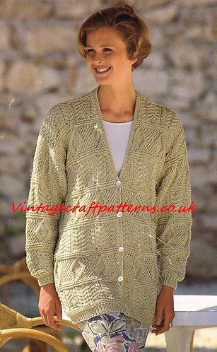 4407H Ladies vintage knitting pattern PDF