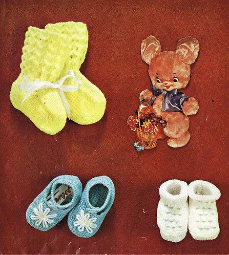 6650Lt baby vintage knitting pattern PDF