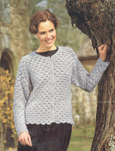 4065H ladies vintage crochet pattern PDF