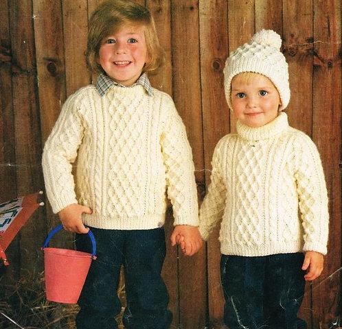 109Ar baby vintage knitting pattern PDF