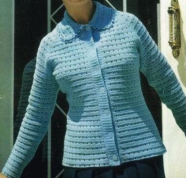 5201S Ladies vintage crochet pattern PDF
