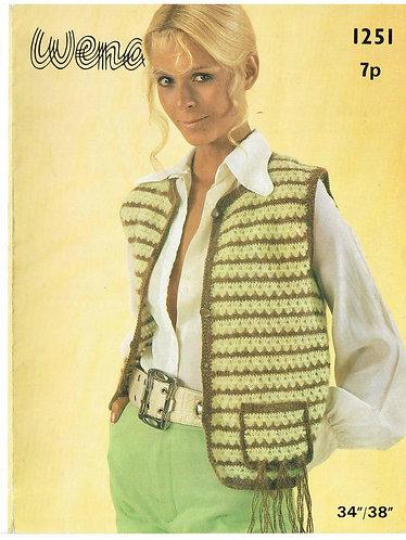 1251W ladies waistcoat PDF
