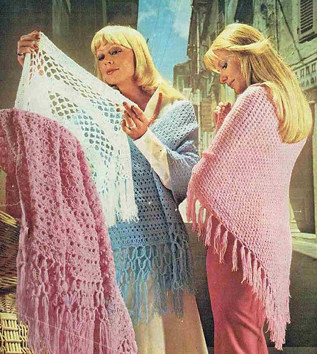 790Ar ladies vintage crochet pattern PDF