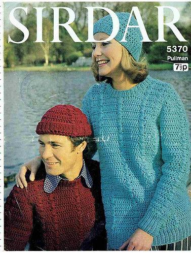 5370Sladies vintage crochet pattern PDF