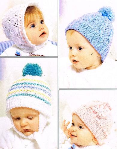 7158T baby vintage knitting pattern PDF