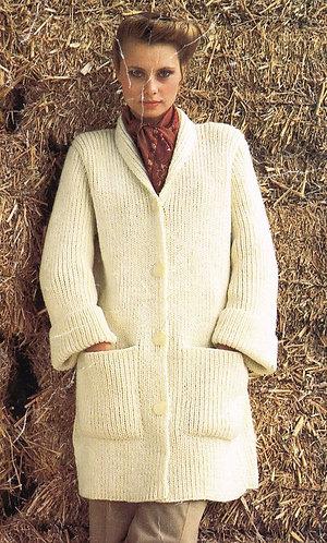 1524H ladies vintage knitting pattern PDF