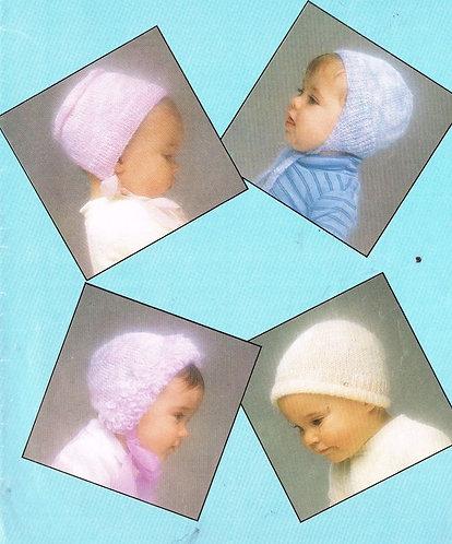 7165P baby vintage knitting pattern PDF
